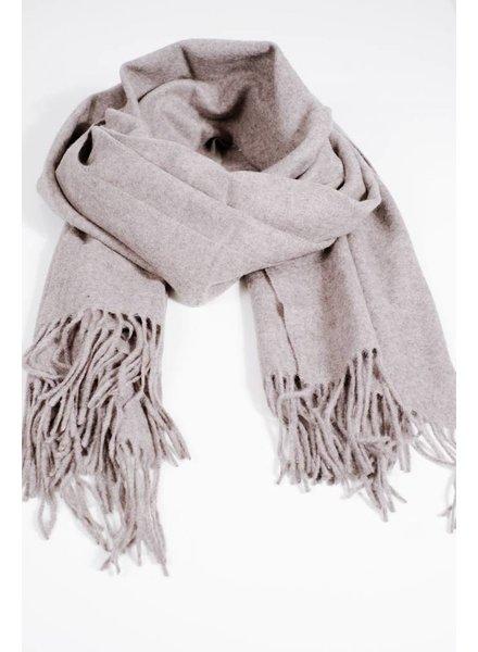 Scarf Grey woolen scarf