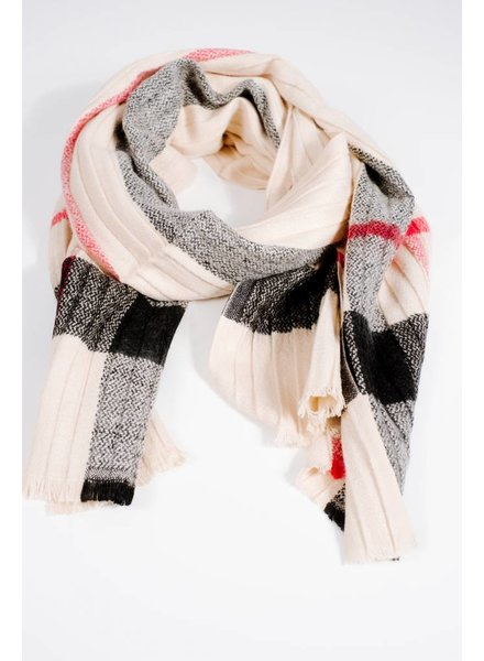 Scarf Pleated favorite plaid scarf