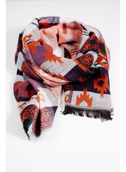 Scarf Boho Aztec scarf