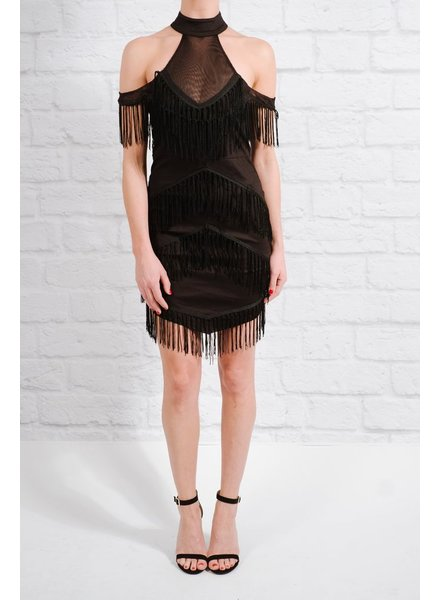 Dressy All over fringe LBD