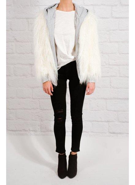 Sweatshirt Fur hoodie