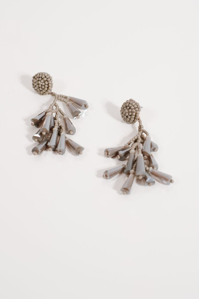 Trend Grey crystal dangles