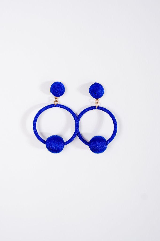 Trend Royal swing ball earrings