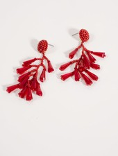 Trend Red crystal dangles