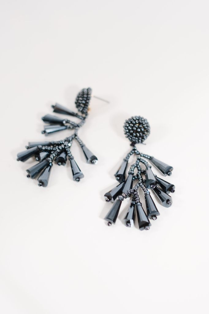 Trend Navy crystal dangles