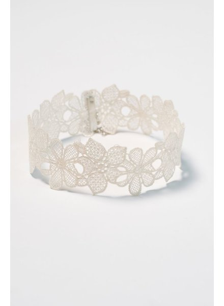 Choker Floral lace choker necklace