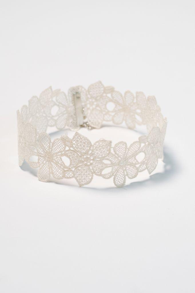 Choker Floral lace choker necklace