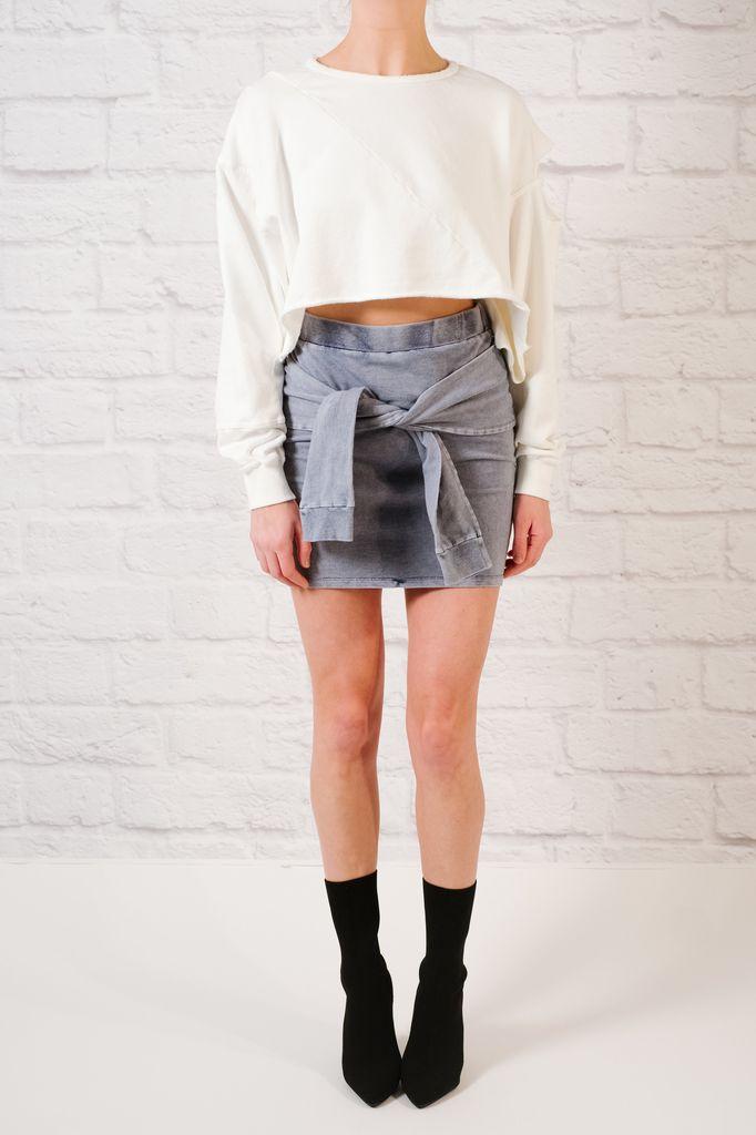 Skirt Tie Front Skirt