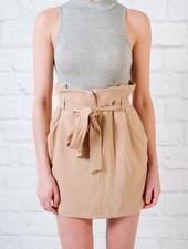 Skirt High waisted tie waist skirt