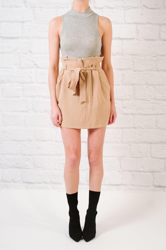 Bodysuit Grey Sleeveless Bodysuit