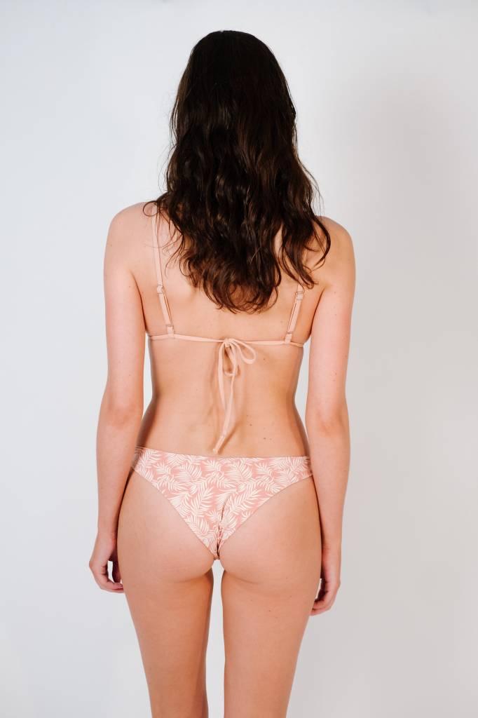 Bikini Cameo string triangle top