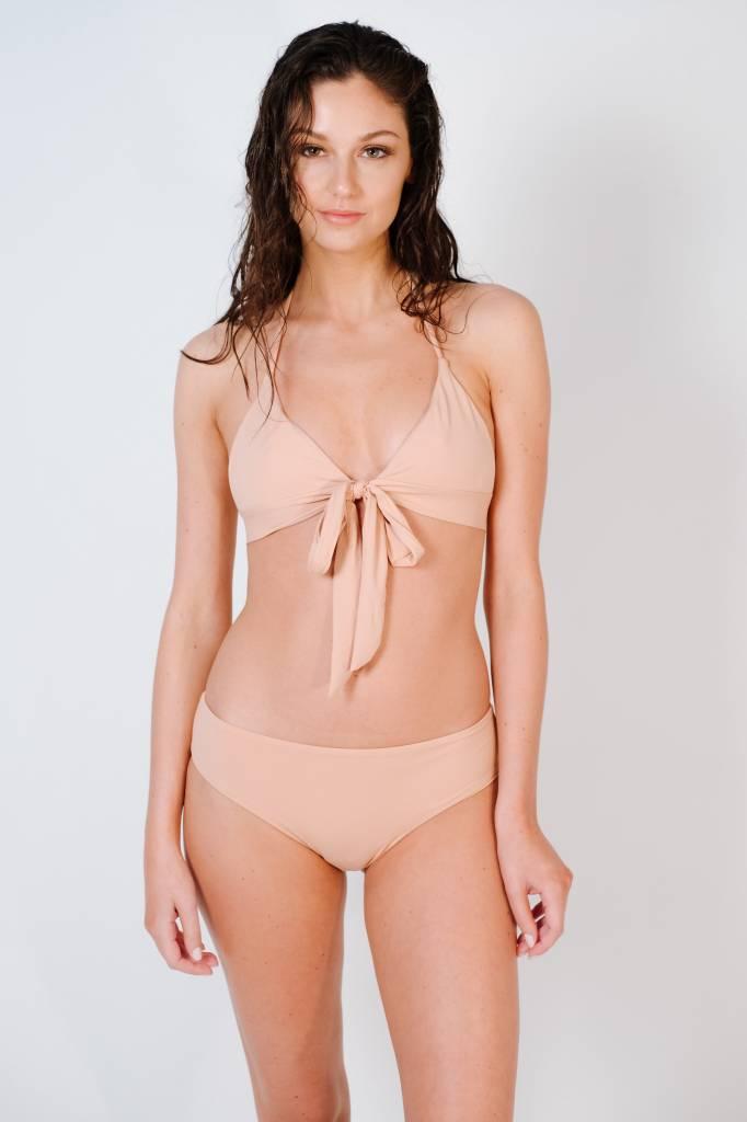 Bikini Cameo halter wrap bikini top