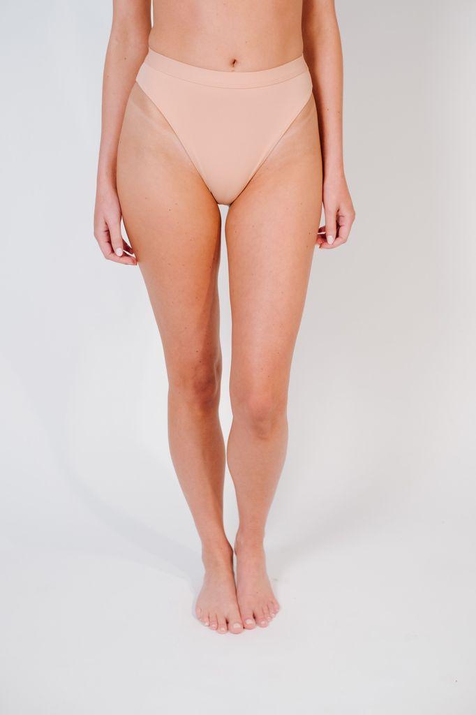 Bikini Cameo high cut banded bottom