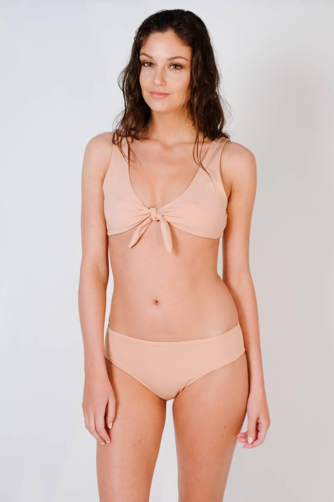 Bikini Cameo knot front bikini top