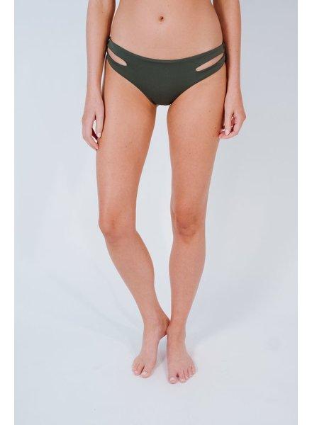 Bikini Charcoal side slit bottom
