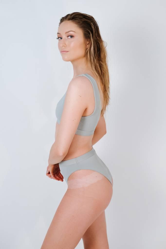 Bikini Light grey sport bikini top