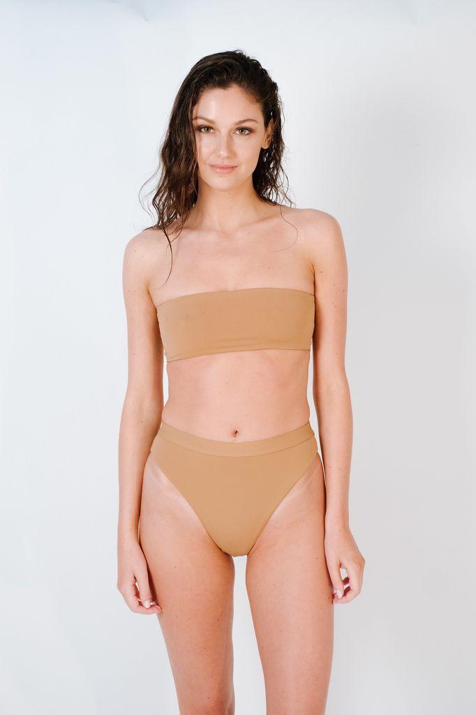 Bikini Mauve seamless tube top