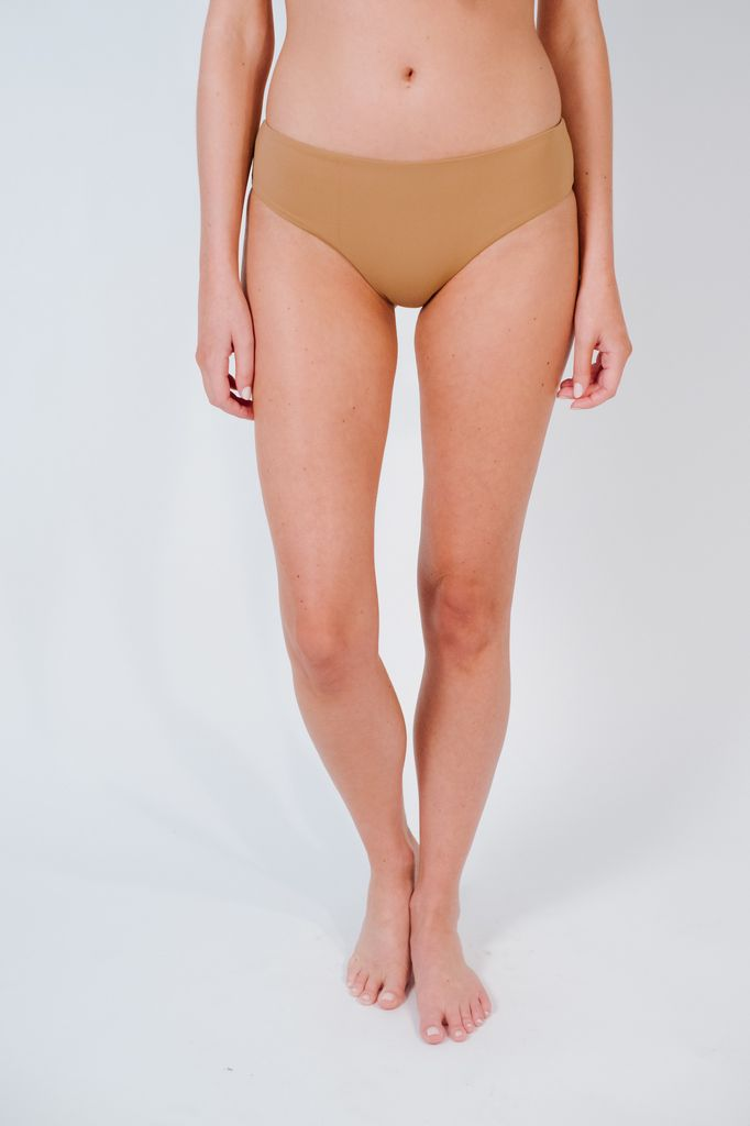 Bikini Mauve seamless classic cut bottom