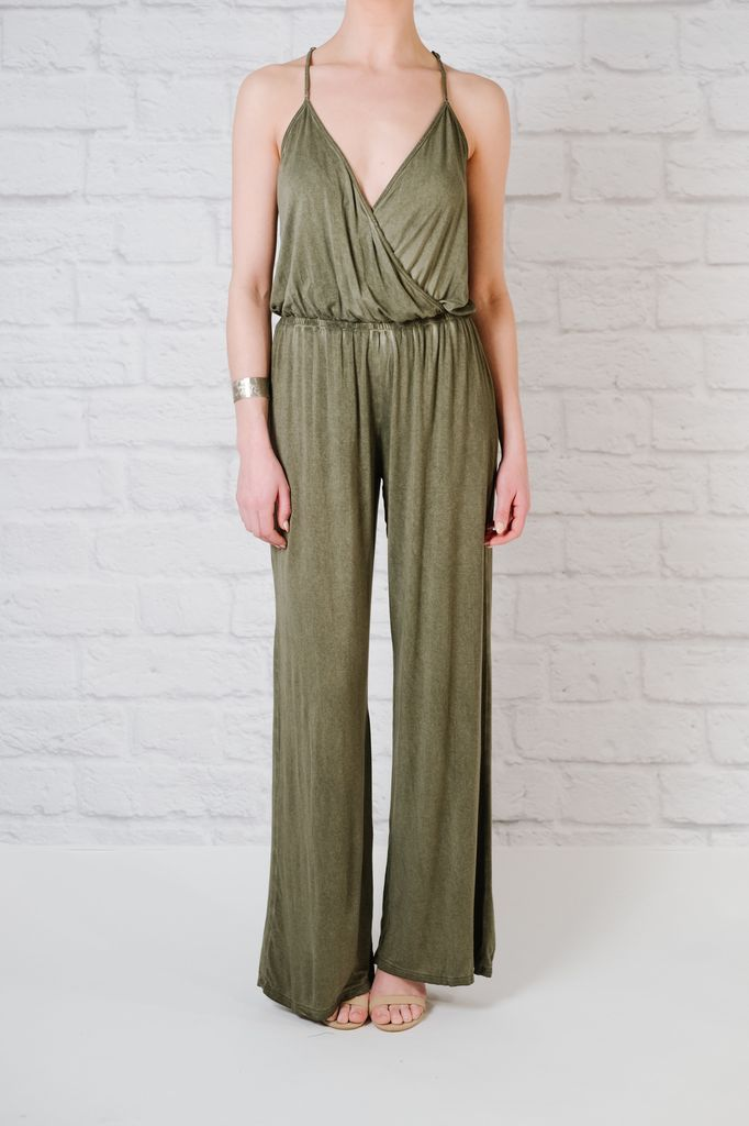 Casual Jersey washed jumpsuit