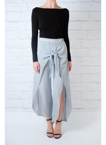 Pants Tie front wrap pants