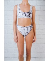 Bikini Marbled sport bikini top