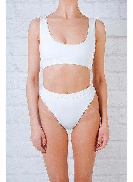 Bikini White sport bikini top