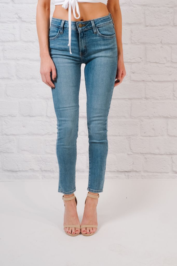 Jeans High rise ankle skinny jeans