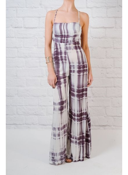 Jumpsuit Tie-dye wide leg jumpsuit