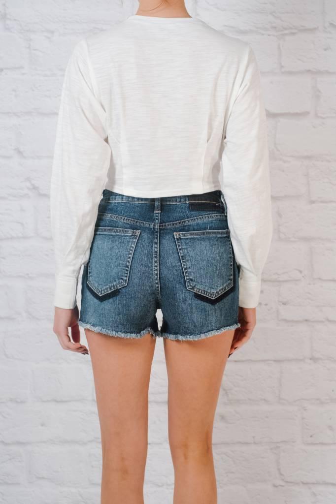 Shorts High rise pocket shadow shorts