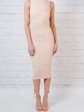 Dressy Heavy ribbed midi