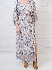 Maxi Floral dolman maxi dress