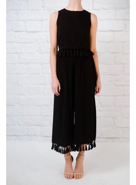 Pants Wide leg tassel pants