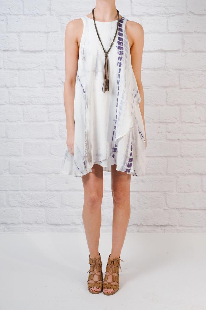 Mini Tie Dye Swing Dress