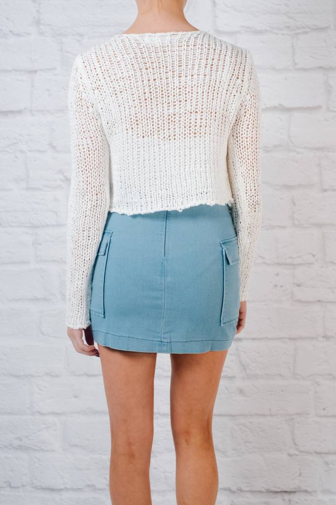 Knit Fitted loose stitched knit