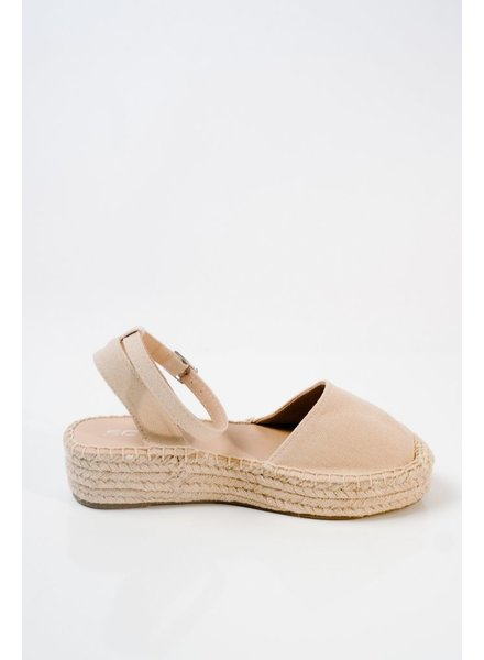 Flat Ankle wrap espadrille