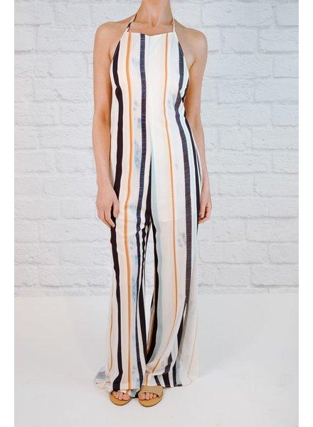 Jumpsuit Painterly Striped Jumpsuit