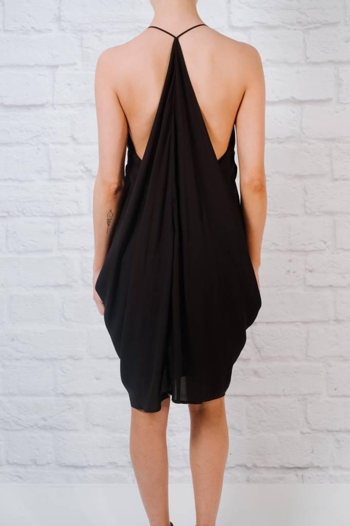 Mini Drapey Cascade Dress