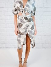 Skirt Palm Print Skirt