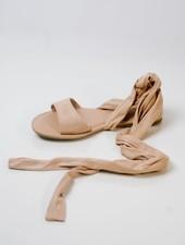 Sandal Suede wrap gladiators