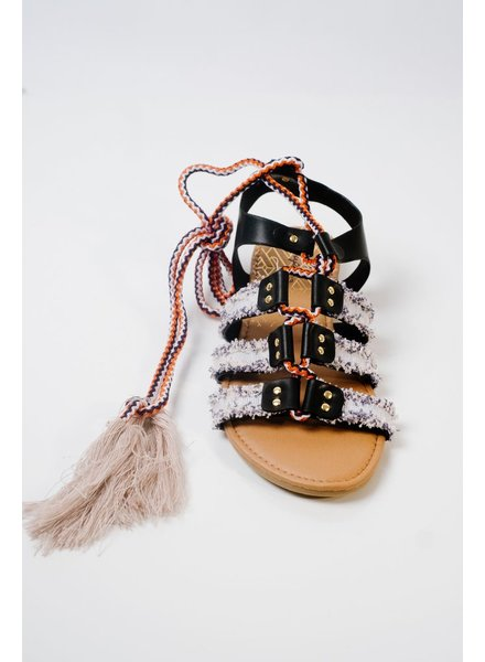 Sandal Boho tassel gladiators
