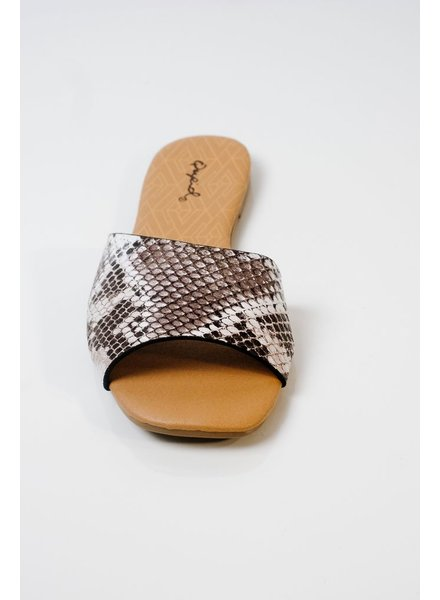 Sandal Modern snake slide
