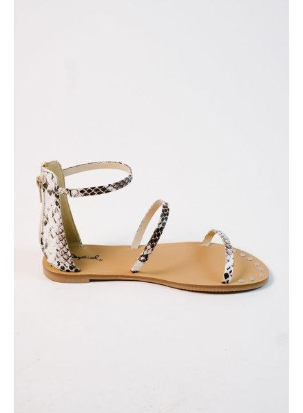 Sandal Triple snake strap sandal