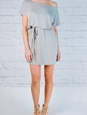 T-shirt Grey jersey t-shirt dress