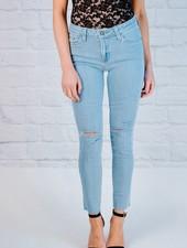Jeans Multi Slit Scissor Cut Skinny