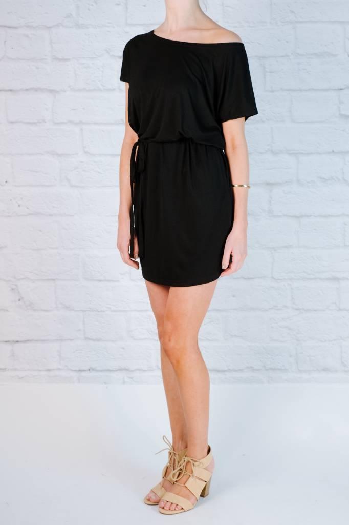 T-shirt Black jersey t-shirt dress