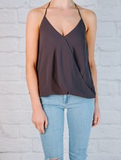 Tank Favorite Cross Over Front Sleeveless Tank