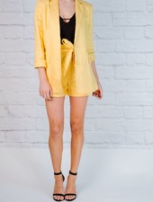 Blazer Lemon linen blazer