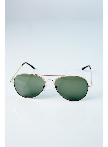 Sunglasses Green tone aviators