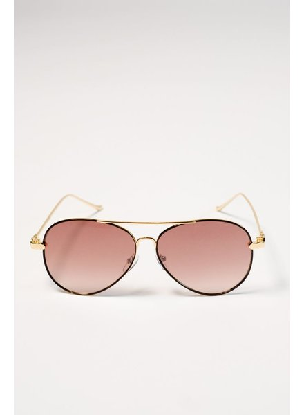 Sunglasses Flat lense aviators