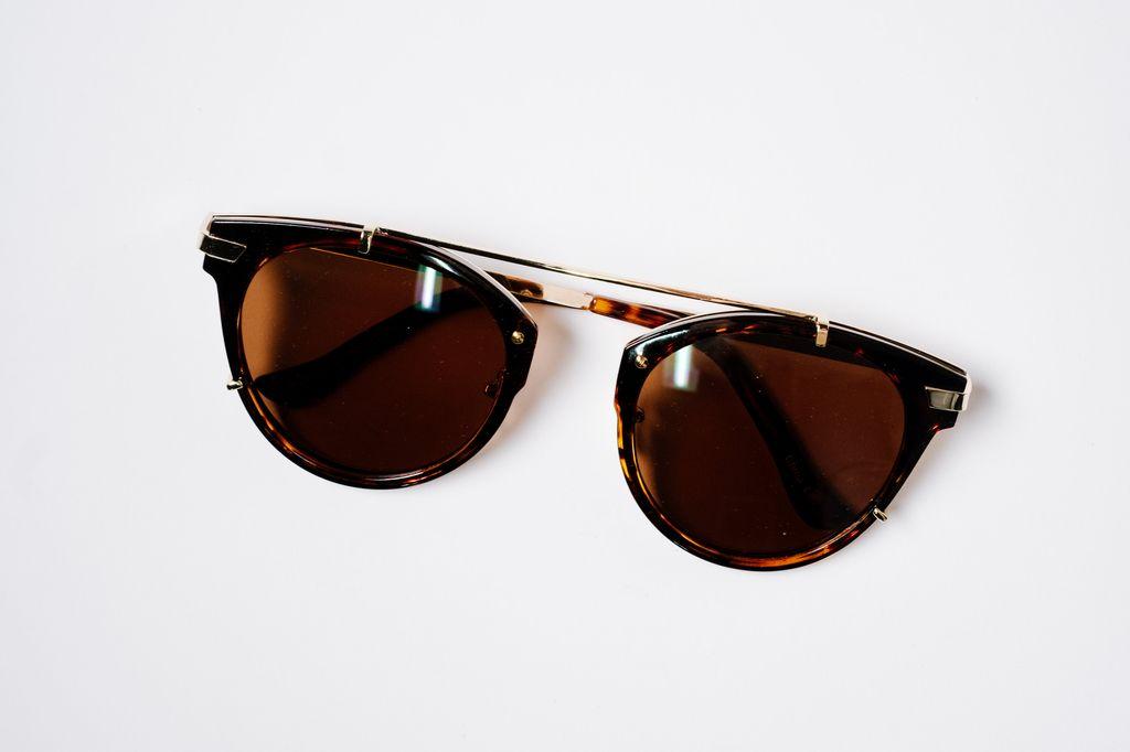 Sunglasses Tortoise floating pilots